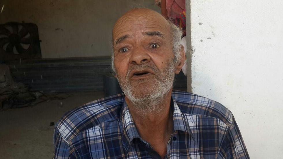 Abu-Ghanima's father Ibrahim.