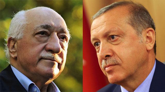 Fethullah Gulen(left) and Turkish President Tayyip Erdogan (right) (Photo: AP, Reuters)