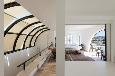 ביתו של האדריכל משה ספדיה ברובע היהודי. לחצו לכתבה המלאה (צילום: גדעון לוין)