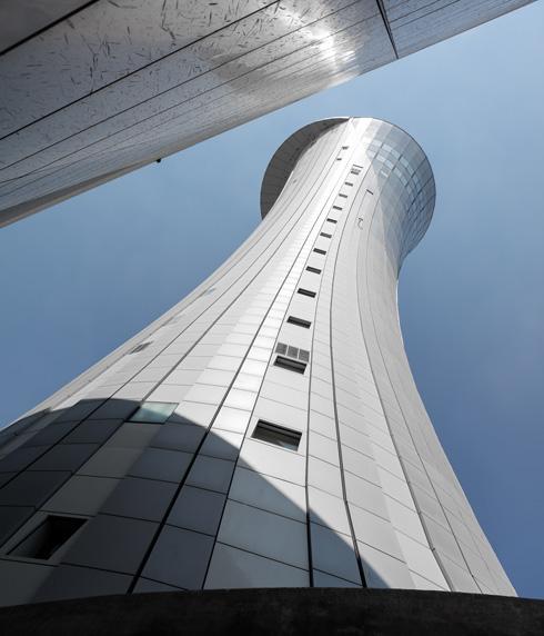 קדה קידה. מגדל הפיקוח החדש (צילום: אינסה ביננבאום)