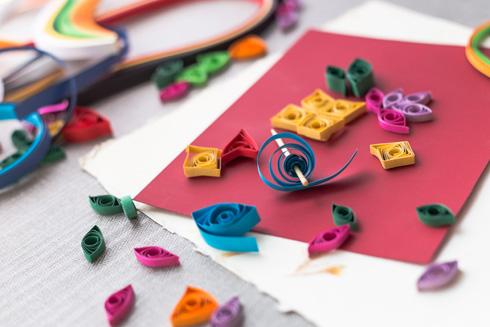 עולם שלם של צורות מרצועות נייר מגולגלות. הקליקו על התמונה (צילום: Shutterstock)