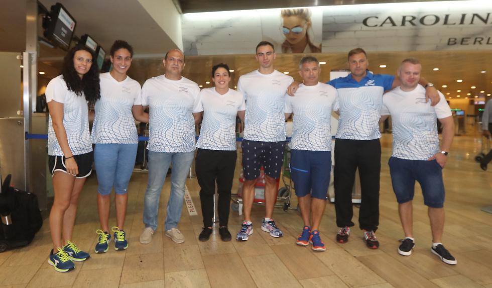 גם נבחרת השחייה הופלתה (צילום: אורן אהרוני) (צילום: אורן אהרוני)