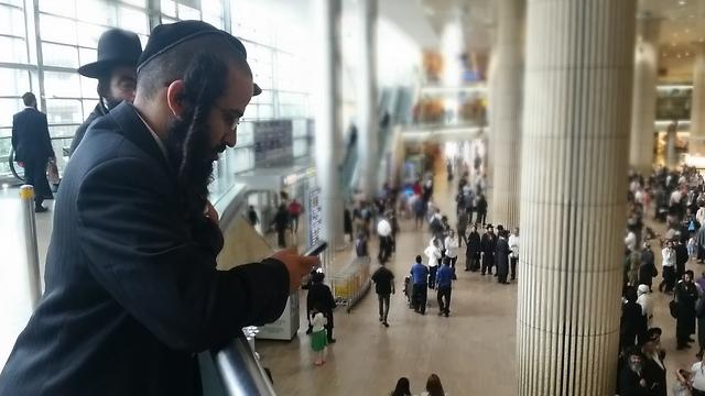 Ben Gurion arrival terminal (Photo: Lior Paz)