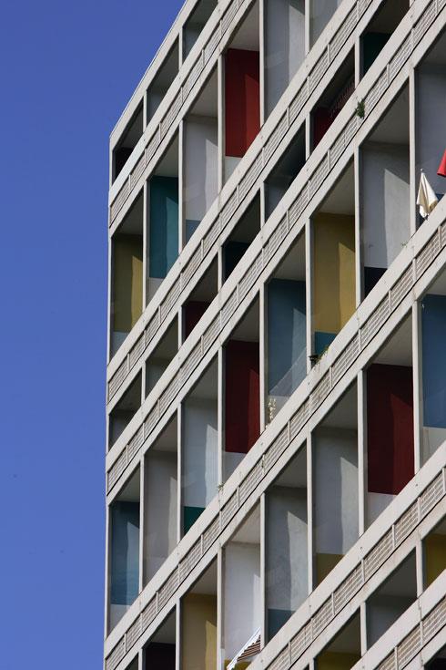 מודרניזם, ברוטליזם, צבעוני לשם שינוי. אוניטה ד'ביטסיון במרסיי (צילום: Gettyimages)