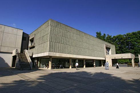 מוזיאון האמנות המערבית בטוקיו. נשען על ה''מודולור'', גריד גיאומטרי המבוסס על מידות אדם (צילום: 663highland, cc)