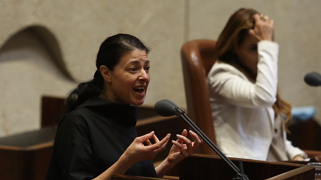 Zionist Union MK Michaeli said that it's no wonder the government couldn't find any women candidates for the Israel Prize (Photo: Gil Yohanan)