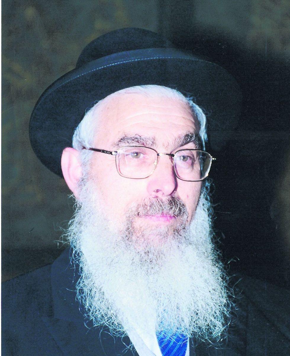 הרב יעקב אריאל. לא הפעם הראשונה שהוא משמיע אמירות כאלה (צילום: יחסי ציבור)