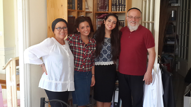 The Lanker family, who immigrated from Nice to Israel
