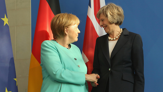 """גם בריטניה, ובראשה תרזה מיי ה""""פרו-ישראלית"""", בחרה להצביע נגד ישראל (צילום: gettyimages) (צילום: gettyimages)"""