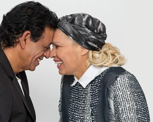רומיאו ויוליה 2016? שימי תבורי ויהודית באומן (צילום: דניאל קמינסקי)