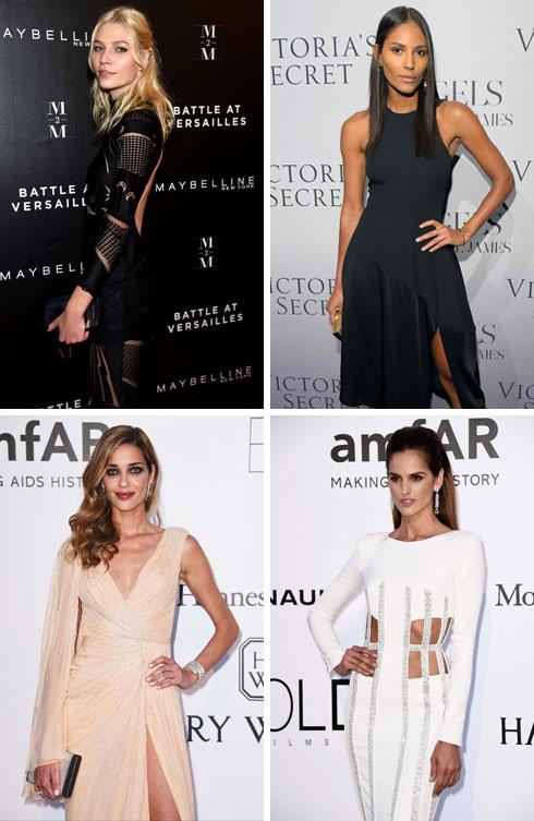 היופי הברזילאי כבש את ענף האופנה: אלין וובר, עמנואלה דה פאולה, איזבל גולארט ואנה ביאטריס בארוס (צילום: Gettyimages)