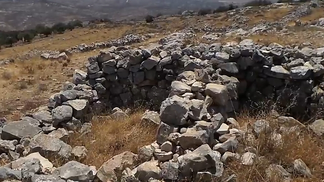 The alleged alter site (Photo: Assaf Kamar)