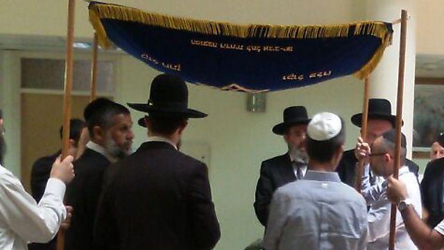 עובדי בית הדין לא פספסו את האירוע (צילום: דוברות בתי הדין) (צילום: דוברות בתי הדין)