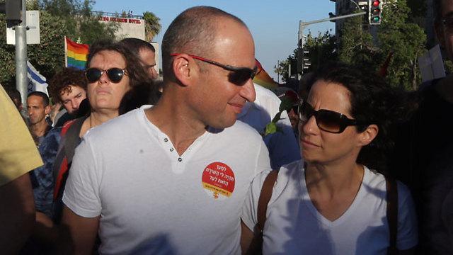 Shira's parents (Photo: Gil Yohanan)