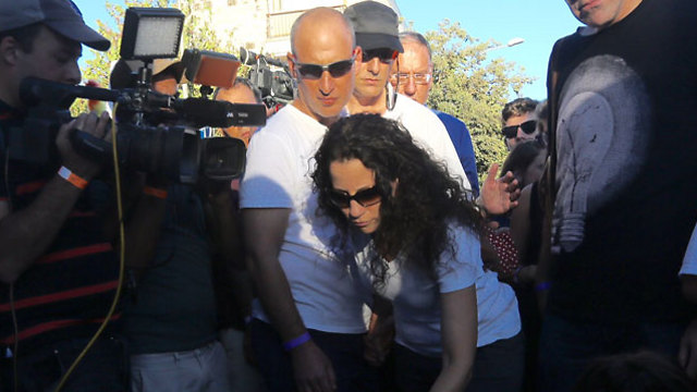 Uri and Mika Banki, Shira's parents (Photo: Gil Yohanan)