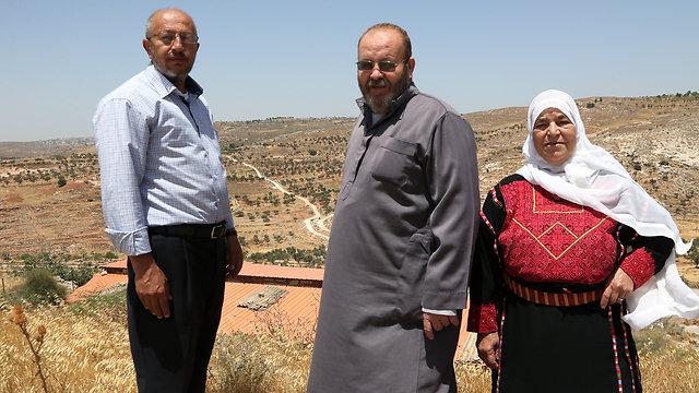 L-R: Yakub, Hamed, and Abelkarim (Photo: Tal Shahar)