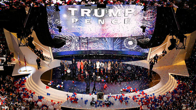 The Republican National Convention. A feeling of darkness and despair. (Photo: Reuters)