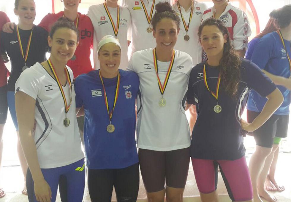 עכשיו זה רשמי. תכירו - נבחרת השליחות של ישראל (צילום: באדיבות איגוד השחייה) (צילום: באדיבות איגוד השחייה)