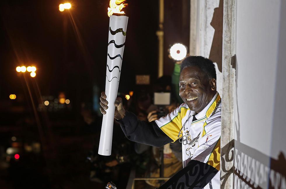 הדמות המפורסמת ביותר בספורט הברזילאי. פלה (צילום: AFP) (צילום: AFP)