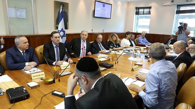 ישיבת ממשלה (צילום: עמית שאבי) (צילום: עמית שאבי)