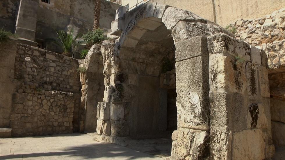 הקארדו בירושלים (צילום: אלי מנדלבאום) (צילום: אלי מנדלבאום)