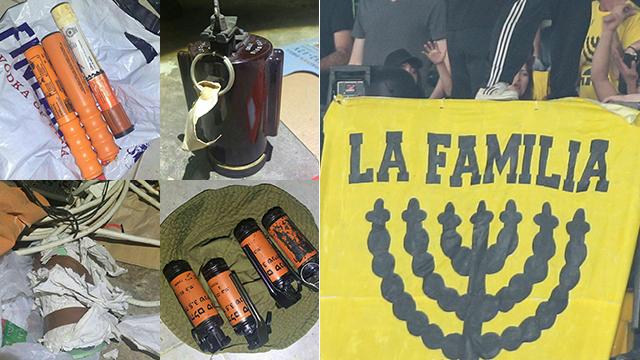 תחמושת שנמצאה אצל חברי הארגון  (צילום: דוברות המשטרה, ראובן שוורץ)