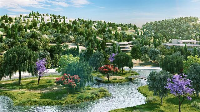 אגם מונפורט: העשרה ביולוגית ואקולוגית באמצעות צמחייה רטובה (הדמייה: טוטם) (הדמייה: טוטם)