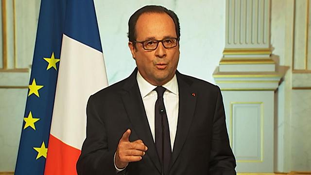 התעקש לדבר רק על סוריה. הולנד (צילום: AFP) (צילום: AFP)