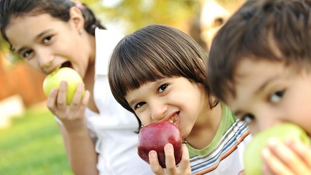 הפירות צריכים להיות נגישים לילדים (צילום: shutterstock) (צילום: shutterstock)