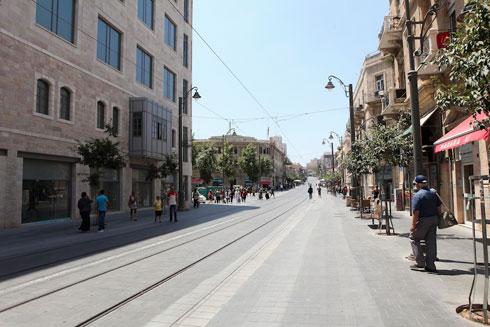 כיכר ציון בירושלים (צילום: שירן כרמל)