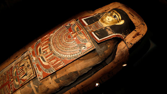 The mummy's sarcophagus (Photo: Reuters)