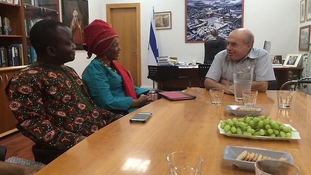 African religious leaders meet with Natan Sharansky (Photo: Courtesy)