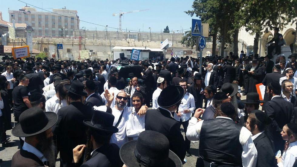 Ultra-Orthodox in Jerusalem (Photo: Eli Mendelbaum)