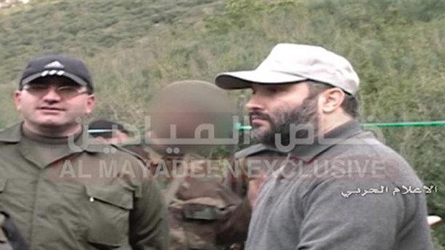 Imad Mughniyah instructing soldiers (Photo: As-Safir)