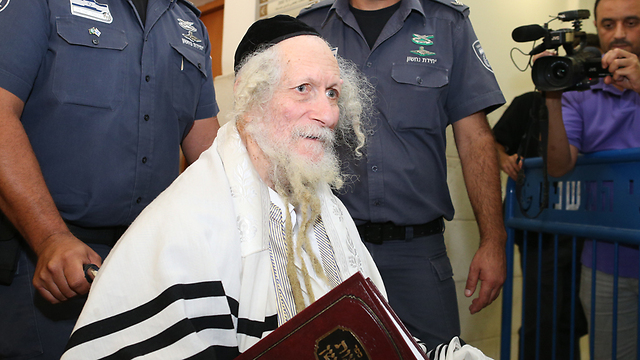 Rabbi Berland (Photo: Amit Shabi)