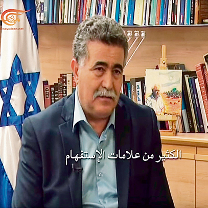 Former Defense Minister Amir Peretz interviewed