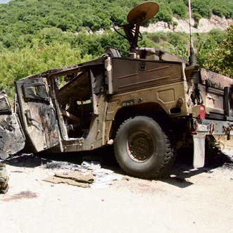 Scene of kidnapping from Lebanon War