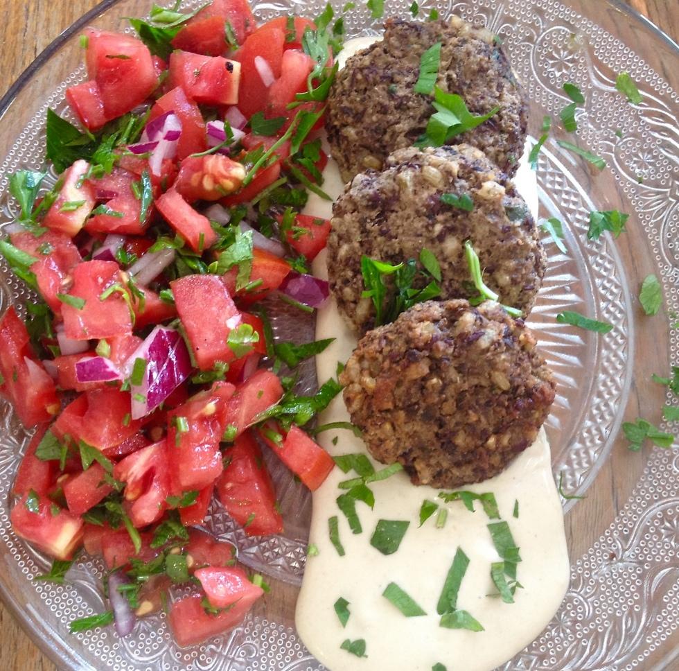 אוכל ביתי ופשוט, מלכין (צילום: לין לוי) (צילום: לין לוי)
