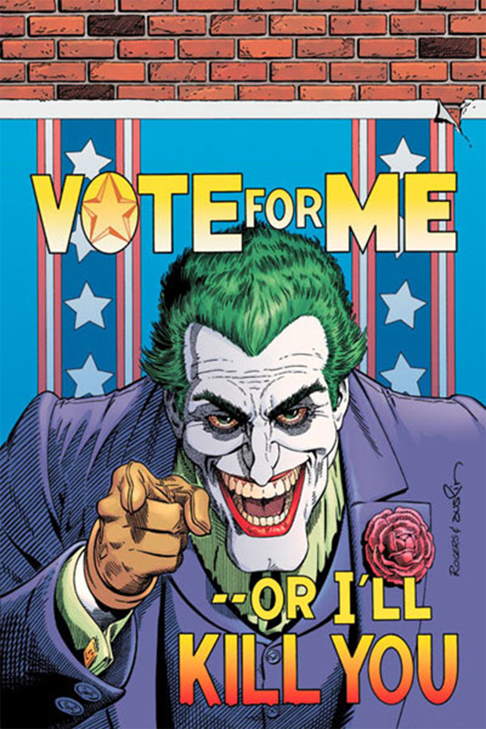 רוצים להצביע לו? הג'וקר לנשיאות ()