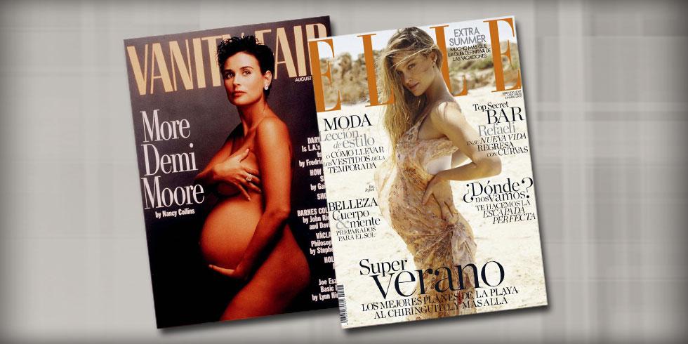 מדמי מור על שער הוניטי פייר ועד בר רפאלי על ELLE ספרד: 25 שנה ליציאת ההיריון מהארון. מה השתנה?