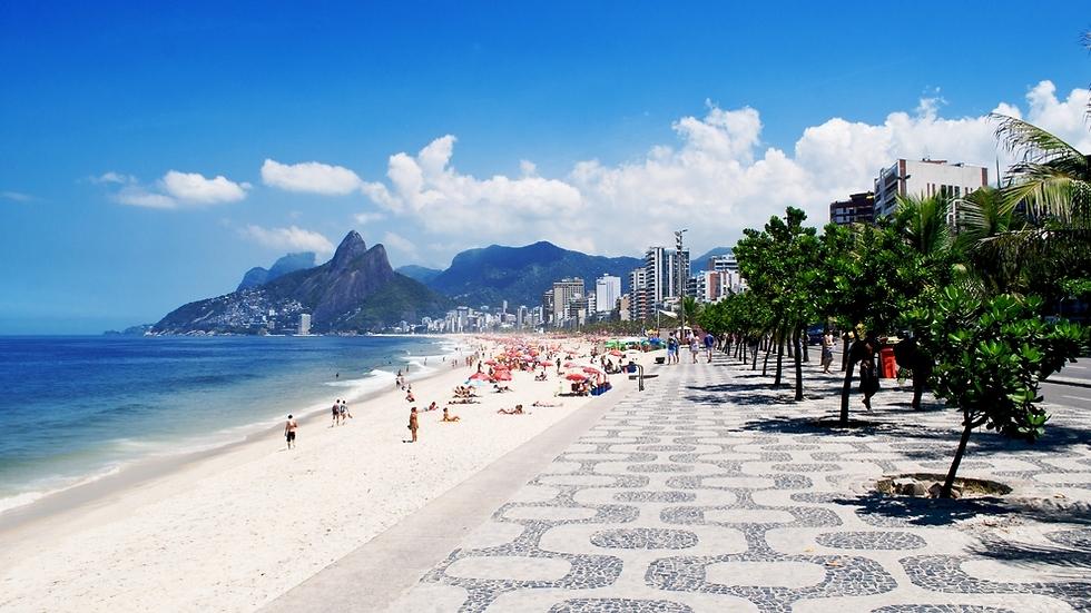 ריו דה ז'נרו איפנימה ברזיל (צילום: shutterstock)