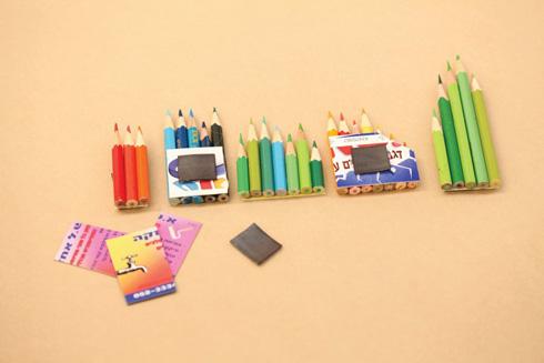 פשוט וקל. תהליך הכנת המגנטים (צילום: אמיר פרג', הסטודיו של אמיר)