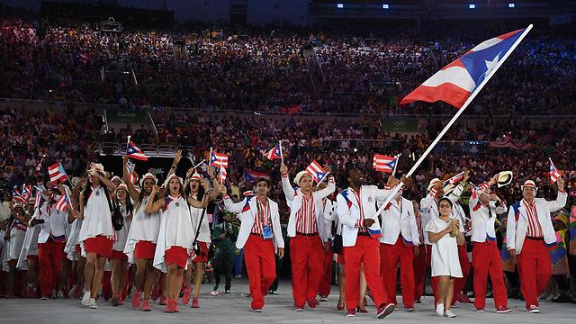 השתתפו באולימפיאדת מוסקבה ב-1980 למרות החרם האמריקני. משלחת פוארטו ריקו (צילום: AFP)