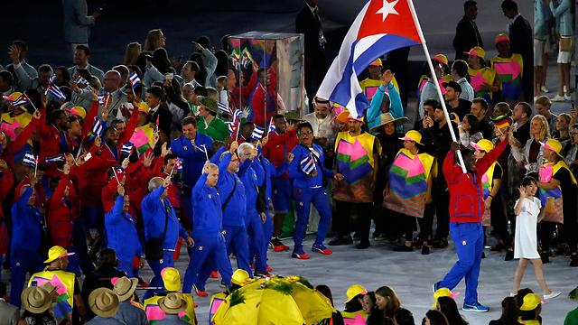 הקובנים היו בין הראשונים שייצגו באולימפיאדה אזור שאיננו מדינה (צילום: EPA)