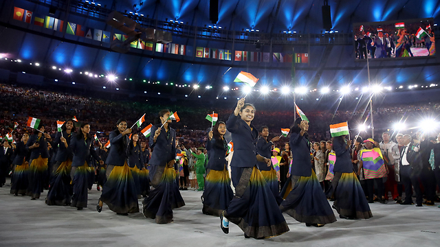 ההודים השתתפו באולימפיאדה אף שהיו תחת שלטון בריטי (צילום: gettyimages)