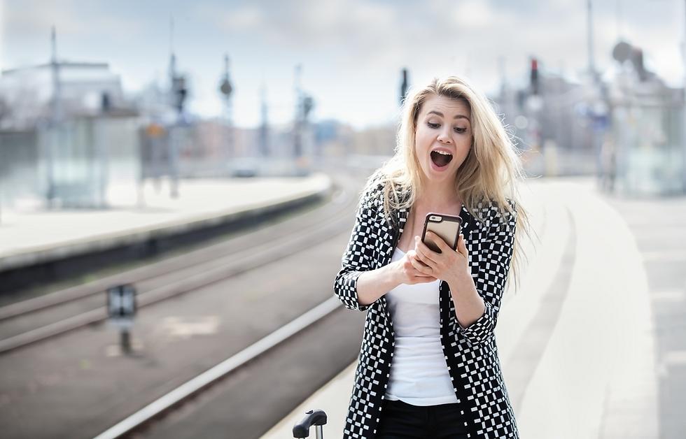 השימוש בסלולר יכול לעזור לנטר את מצב הרוח שלנו (צילום: Shutterstock)