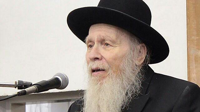 """הרב אריה פינקל ז""""ל (צילום: שלומי כהן, כיכר השבת) (צילום: שלומי כהן, כיכר השבת)"""