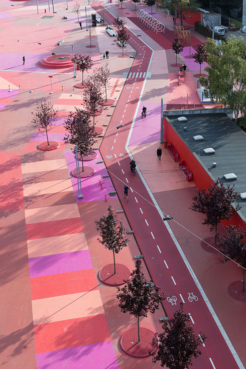 בקופנהאגן תיכנן המשרד הזוכה את פארק Superkilen. לחצו לכתבה המלאה (צילום: Iwan Baan)