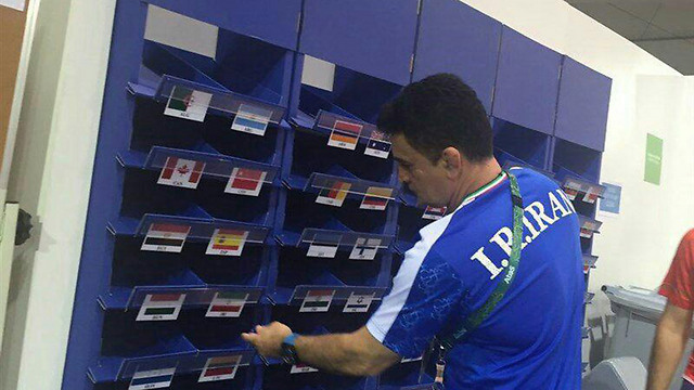 מאמן נבחרת ההיאבקות האיראנית מחליף את הודו באיראן ()