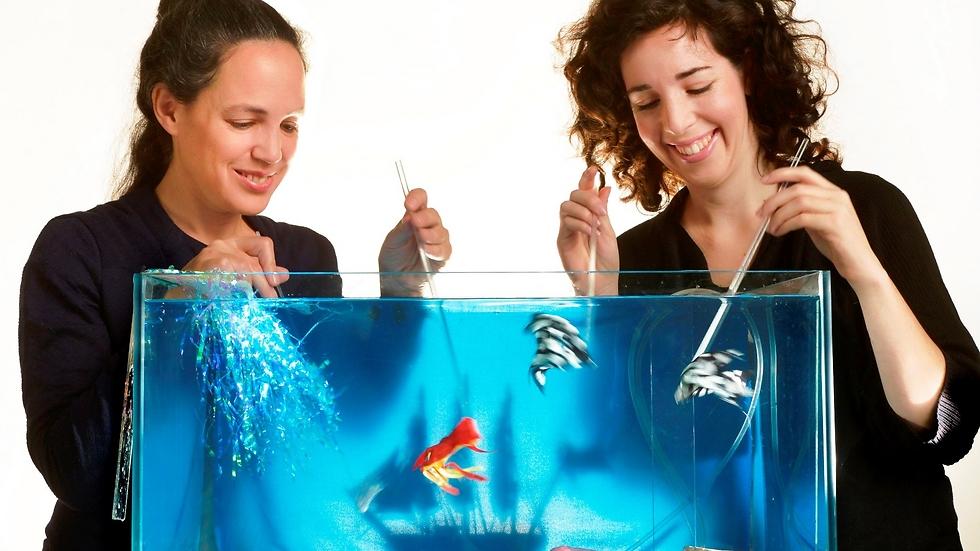 """""""ים קטן"""" - ההצגה הרב-תחומית של השנה, יחד עם """"למה בכה הדג"""" (צילום: יוסי צבקר)"""